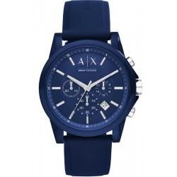 Armani Exchange Herrenuhr Outerbanks AX1327 Chronograph