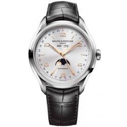 Baume & Mercier Herrenuhr Clifton 10055 Moonphase Automatic