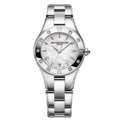 Kaufen Sie Baume & Mercier Damenuhr Linea 10071 Diamanten Perlmutt Quartz