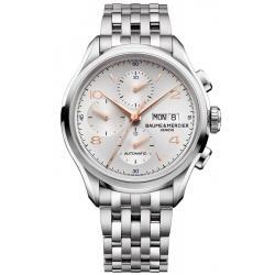 Baume & Mercier Herrenuhr Clifton 10130 Automatik Chronograph