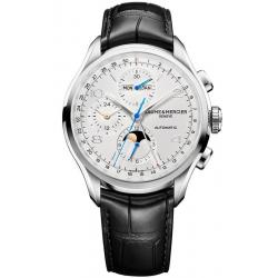 Baume & Mercier Herrenuhr Clifton Chronograph Moonphase Automatic 10278