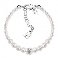 Boccadamo Damenarmband Perle BR366 Swarovski