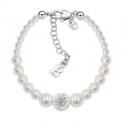 Kaufen Sie Boccadamo Damenarmband Perle BR367 Swarovski