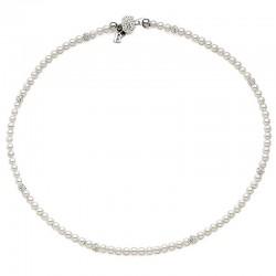 Kaufen Sie Boccadamo Damenhalskette Perle GR496 Swarovski