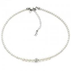 Kaufen Sie Boccadamo Damenhalskette Perle GR501 Swarovski
