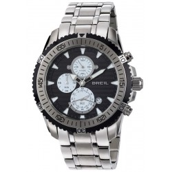 Breil Herrenuhr Ground Edge TW1506 Quarz Chronograph