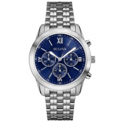 Bulova Herrenuhr Dress 96A174 Quarz Chronograph