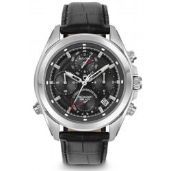 Kaufen Sie Bulova Herrenuhr Dress Precisionist 4 Eye 96B259 Quarz Chronograph