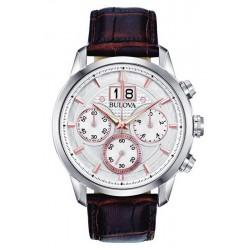 Kaufen Sie Bulova Herrenuhr Sutton Classic 96B309 Quarz Chronograph
