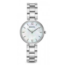 Bulova Damenuhr Dress 96L229 Perlmutt Quartz