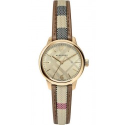 Burberry Damenuhr The Classic Round BU10114