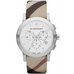 Kaufen Sie Burberry Herrenuhr The City Nova Check BU9357 Chronograph