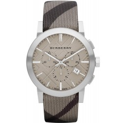 Burberry Herrenuhr The City Nova Check BU9358 Chronograph