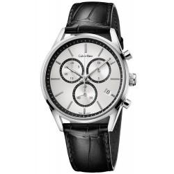 Kaufen Sie Calvin Klein Herrenuhr Formality K4M271C6 Chronograph