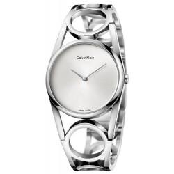 Kaufen Sie Calvin Klein Damenuhr Round K5U2M146