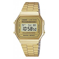 Casio Collection Unisexuhr A168WG-9EF Multifunktions Digital