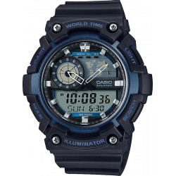 Kaufen Sie Casio Collection Herrenuhr AEQ-200W-2AVEF Multifunktions Ana-Digi