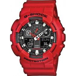 Casio G-Shock Herrenuhr GA-100B-4AER Multifunktions Ana-Digi