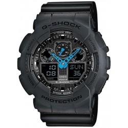 Casio G-Shock Herrenuhr GA-100C-8AER Multifunktions Ana-Digi