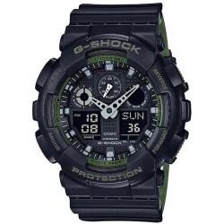 Casio G-Shock Herrenuhr GA-100L-1AER Multifunktions Ana-Digi