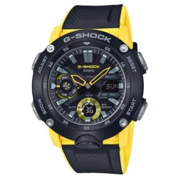 Casio G-Shock Herrenuhr GA-2000-1A9ER Ana-Digi Multifunktions
