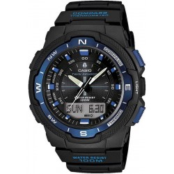 Casio Collection Herrenuhr SGW-500H-2BVER Multifunktions Ana-Digi