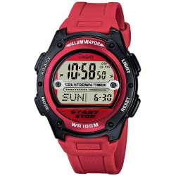 Casio Collection Herrenuhr W-756-4AVES Multifunktions Digital