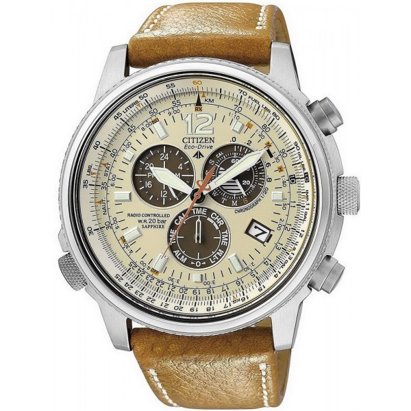 Kaufen Sie Citizen Herrenuhr Promaster Sky Chrono Pilot Funkuhr AS4020-44B