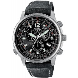 Citizen Herrenuhr Promaster Sky Chrono Pilot Funkuhr Titan AS4050-01E