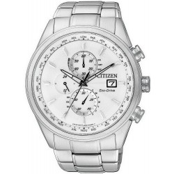 Citizen Herrenuhr Elegant Chrono Eco-Drive Funkuhr AT8011-55A