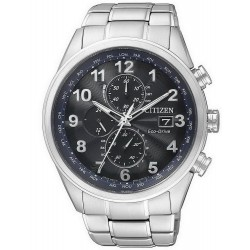 Citizen Herrenuhr Elegant Chrono Eco-Drive Funkuhr AT8011-55L