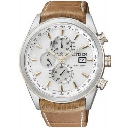 Citizen Herrenuhr Elegant Chrono Eco-Drive Funkuhr AT8017-08A