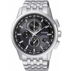 Citizen Herrenuhr Elegant Funkuhr Chrono Evolution 5 AT8110-61E