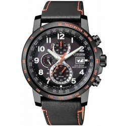 Citizen Herrenuhr Funkuhr H800 Sport Chrono Eco-Drive AT8125-05E