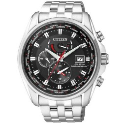 Citizen Herrenuhr Funkuhr Chrono Eco-Drive AT9030-55E