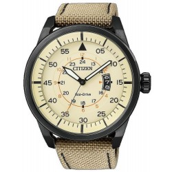 Citizen Herrenuhr Aviator Eco-Drive AW1365-19P