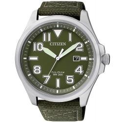 Citizen Herrenuhr Military Eco-Drive AW1410-32X