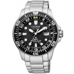 Citizen Herrenuhr Promaster Diver's Eco-Drive Super Titan GMT BJ7110-89E