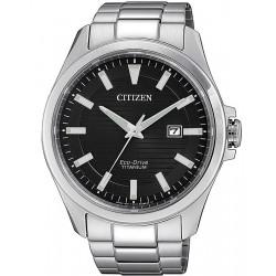 Citizen Herrenuhr Super Titanium Eco-Drive BM7470-84E