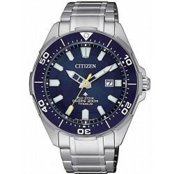 Citizen Herrenuhr Promaster Diver's Eco Drive 200M Super Titan BN0201-88L