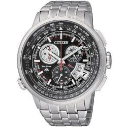 Citizen Herrenuhr Funkuhr Chrono Pilot Eco-Drive Evolution 5 Titan BY0011-50F