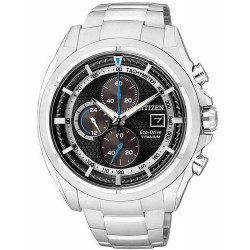 Citizen Herrenuhr Super Titanium Chrono Eco-Drive CA0550-52E