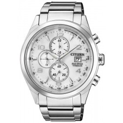 Citizen Herrenuhr Super Titanium Chrono Eco-Drive CA0650-82A