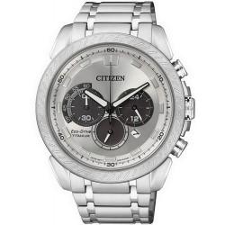 Citizen Herrenuhr Super Titanium Chrono Eco-Drive CA4060-50A