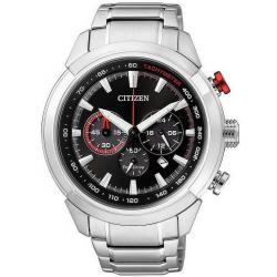 Citizen Herrenuhr Chrono Eco-Drive CA4110-53F