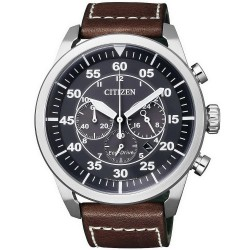 Citizen Herrenuhr Aviator Chrono Eco-Drive CA4210-16E