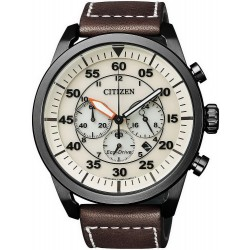 Citizen Herrenuhr Aviator Chrono Eco-Drive CA4215-04W