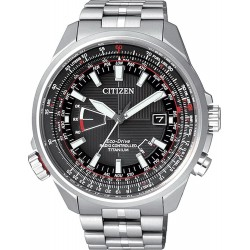 Citizen Herrenuhr Pilot Funkuhr Titan Evolution 5 Eco-Drive CB0140-58E