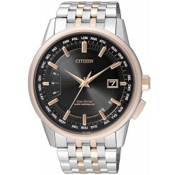 Citizen Herrenuhr Elegant Funkuhr Evolution 5 Eco-Drive CB0156-66E