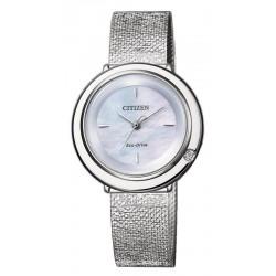 Kaufen Sie Citizen Damenuhr Ambiluna Eco-Drive EM0640-82D Diamant Perlmutt